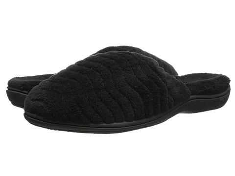 Acorn - Spa Support Scuff (Black) Women's Slippers