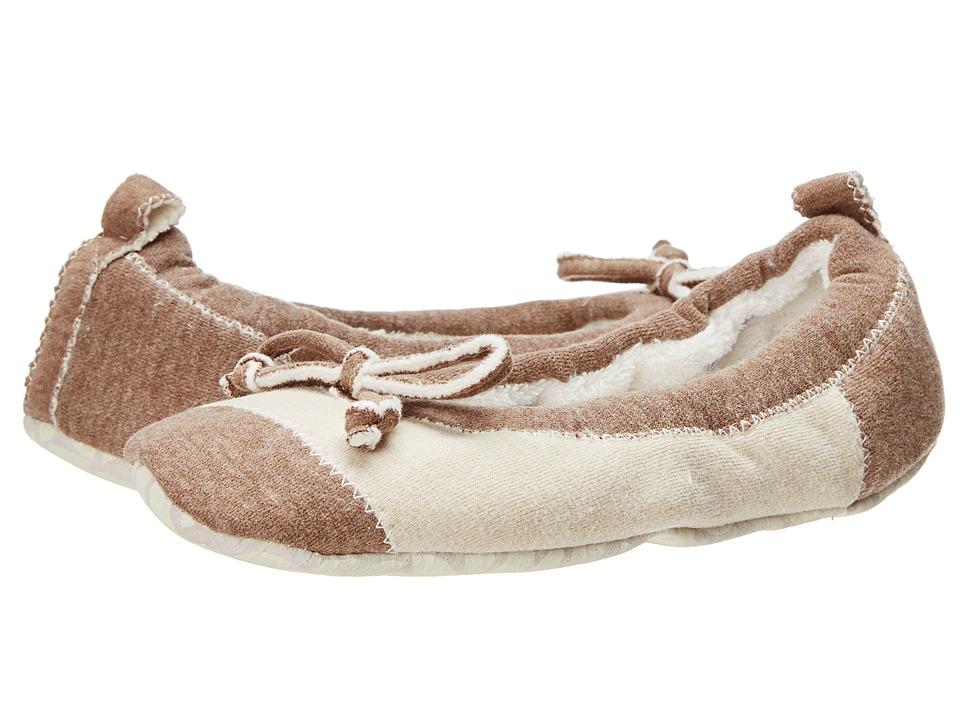 Acorn - Easy Spa Ballet (Latte Jersey) Women's Flat Shoes