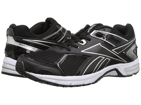 Reebok - Quickchase Run (Black/Pure Silver/White) Men's Running Shoes