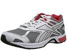 Reebok - Quickchase Run (Flat Grey/White/Red Rush/Black)