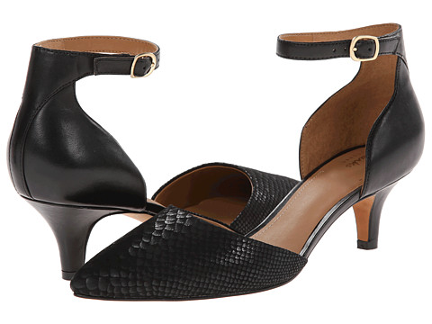 Clarks - Sage Glamor (Black Combination Leather) High Heels