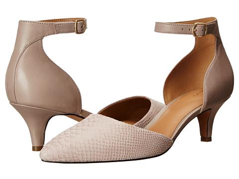 Clarks - Sage Glamor (Shingle Grey Snake Leather) High Heels