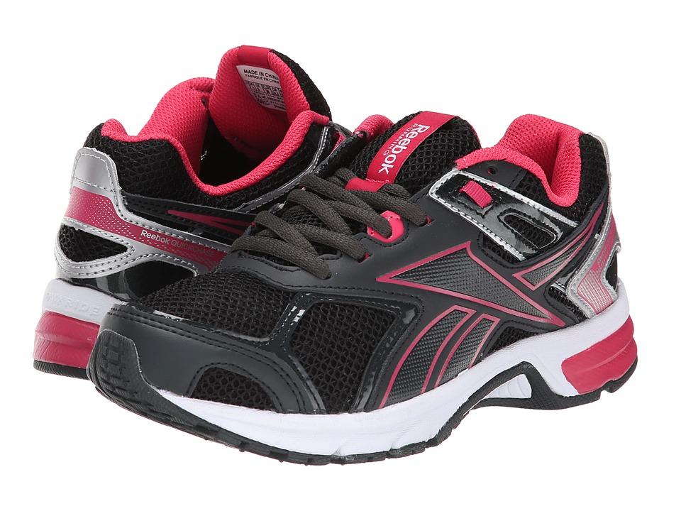 Reebok - Quickchase Run (Gravel/Blazing Pink/Pure Silver/White) Women