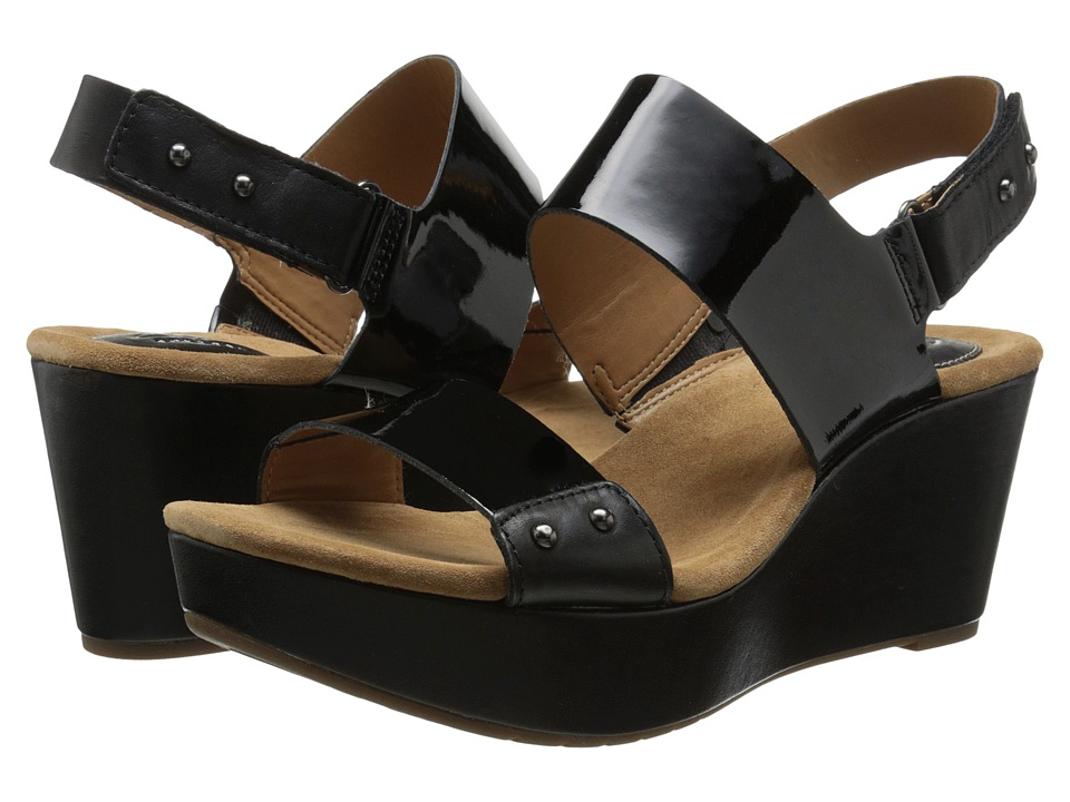Clarks - Caslynn Dez (Black Patent Leather) Women