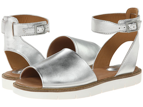 Clarks - Lydie Hala (Silver Leather) Women's Sandals