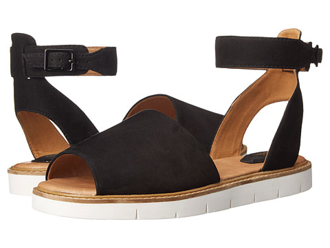 Clarks - Lydie Hala (Black Nubuck) Women's Sandals