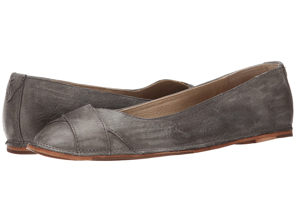 Frye - Ember Cross Ballet (Charcoal Sunwash Nubuck) Women