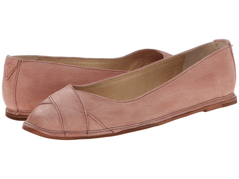 Frye - Ember Cross Ballet (Dusty Rose Sunwash Nubuck) Women