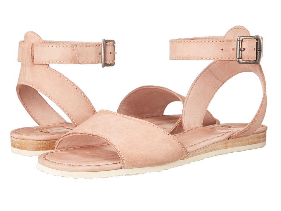 Frye - Mandy Ankle (Dusty Rose Sunwash Nubuck) Women's Sandals