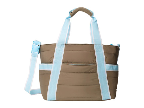 Crocs - Retro Diaper Bag (Smoke/Ice Blue) Bags