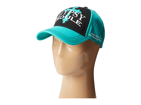 Gypsy SOULE - GYP-216 (Turquoise/Black) Caps