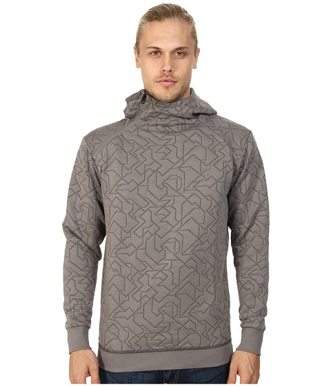G-Star - Navy Quilted Hooded L/S Sweater (Heron) Men