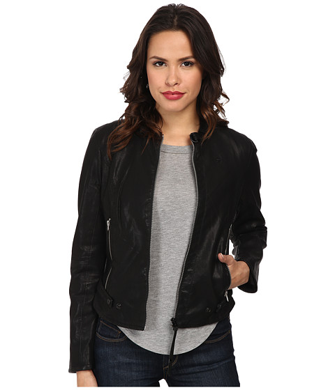G-Star - Chopper Jacket (Black) Women's Coat