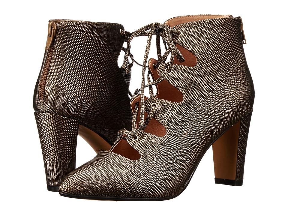 Nina Originals - Amaze (Bronze Metal Lizard Print) Women's Boots