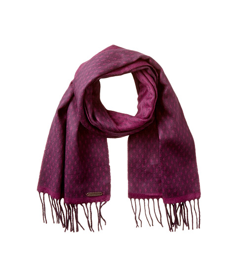 Ted Baker - Reverse Colour Scarf (Deep Purple) Scarves