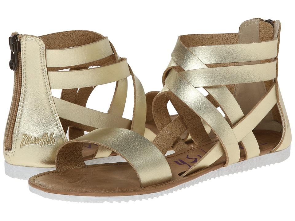 Blowfish - Ella (Gold Dyecut PU) Women's Sandals