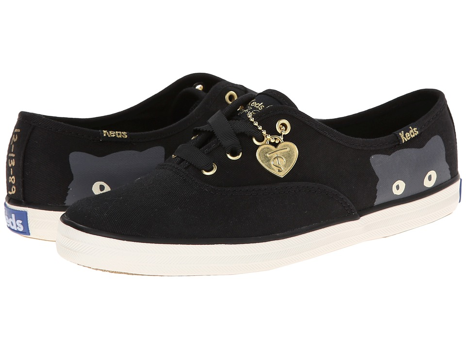 Keds - Taylor Swift Sneaky Cat (Black) Women