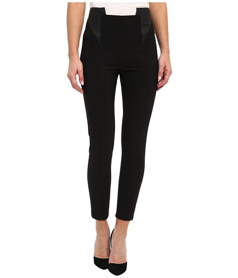 Aryn K - Stretch Crop Pant (Black) Women