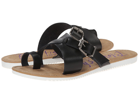 Blowfish - Eevee (Black Dyecut PU) Women's Sandals