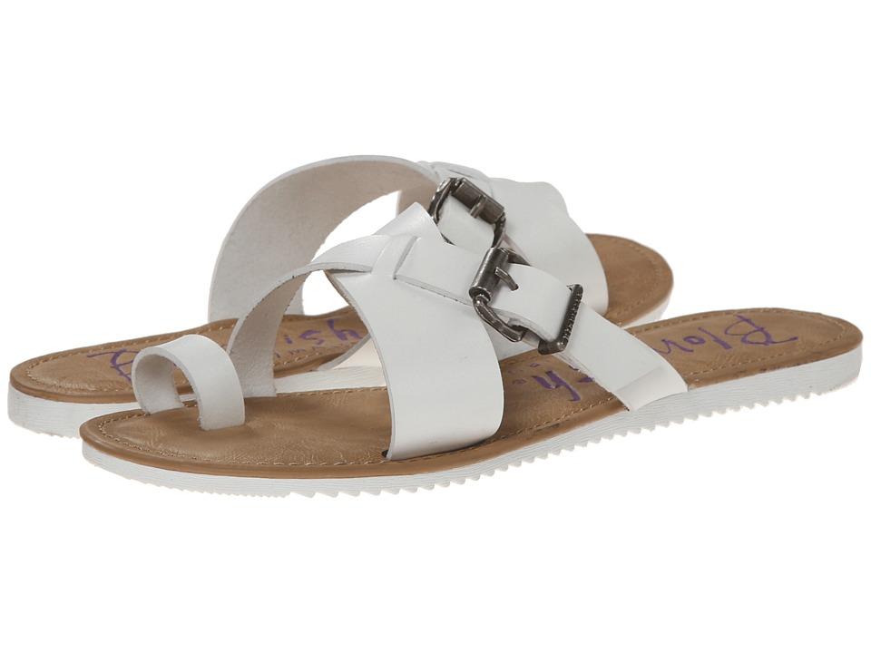 Blowfish - Eevee (White Dyecut PU) Women's Sandals