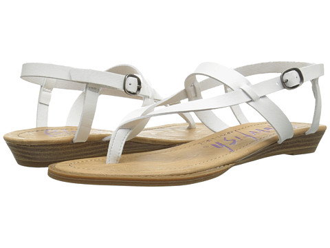 Blowfish - Berg (White Dyecut) Women's Sandals