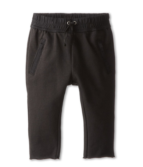 Hudson Kids - The Skinny French Terry Pant in Black (Infant) (Black) Boy