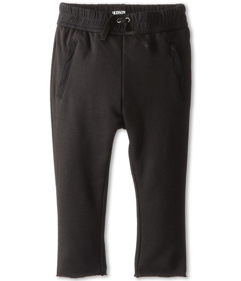 Hudson Kids - The Skinny French Terry Pant in Black (Toddler) (Black) Boy's Casual Pants