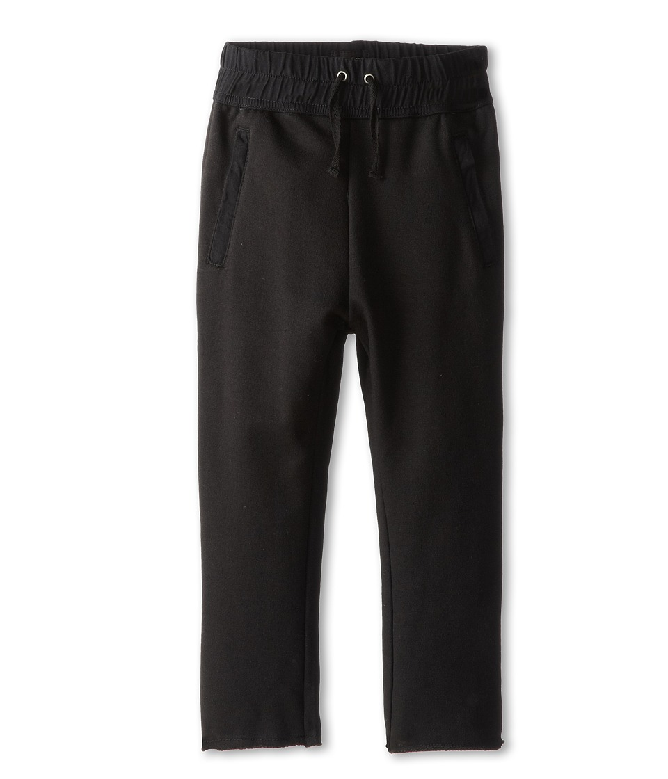 Hudson Kids - The Skinny French Terry Pant in Black (Little Kids/Big Kids) (Black) Boy