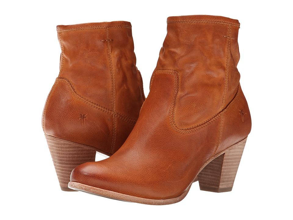 Frye Paulina Artisan Zip (Camel Washed Vintage) Cowboy Boots