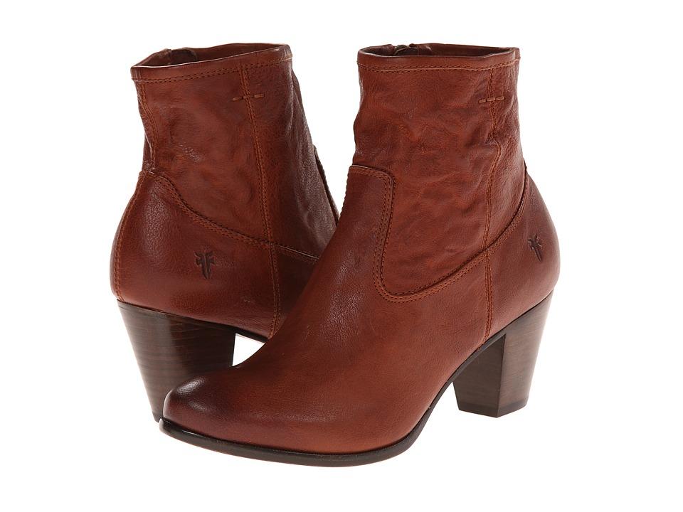 Frye Paulina Artisan Zip Whiskey Washed Vintage Cowboy Boots