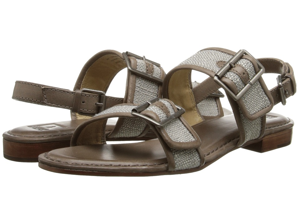 Frye - Phillip Buckles (Slate Coton Twill) Women's Sandals