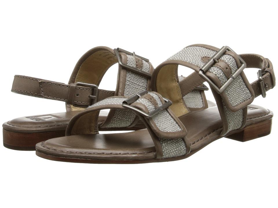 Frye - Phillip Buckles (Slate Coton Twill) Women's Sandals