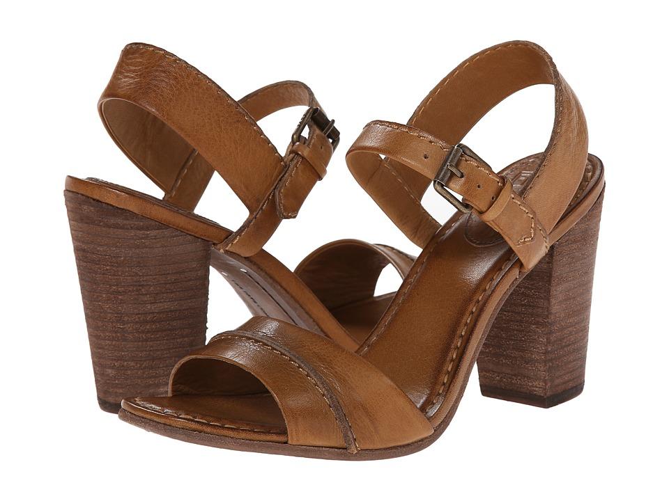 Frye - Portia Seam 2 Piece (Camel Soft Vintage Leather) Women's Dress Sandals