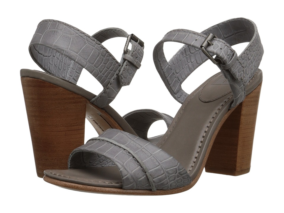 Frye - Portia Seam 2 Piece (Grey Embosssed Full Grain) Women