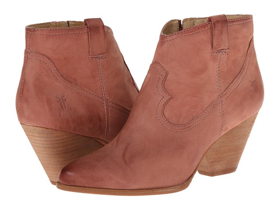 Frye - Reina Bootie (Dusty Rose Buffed Nubuck) Cowboy Boots