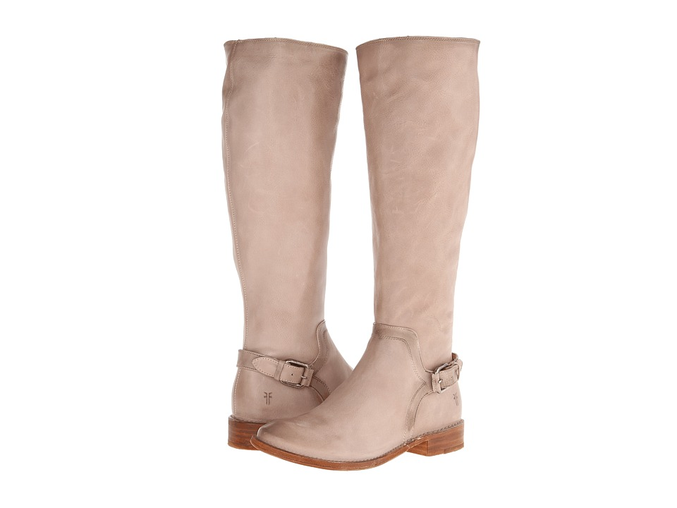 Frye - Shirley Shield Tall (Fawn Smooth Vintage Leather) Cowboy Boots