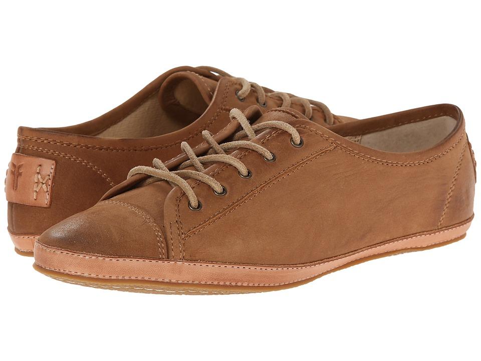 Frye - Tegan Low Lace (Camel Buffed Nubuck) Women's Shoes