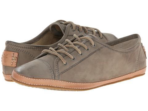 Frye - Tegan Low Lace (Grey Buffed Nubuck 2) Women's Shoes