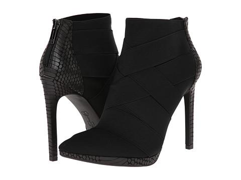 Jessica Simpson - Breena (Black Viper Snake Print) High Heels