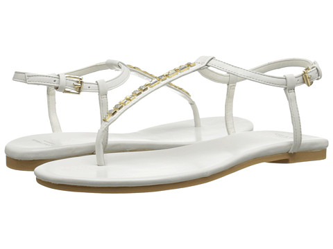 Cole Haan - Effie Jewel Sandal (White) Women's Beads/Ornaments Shoes