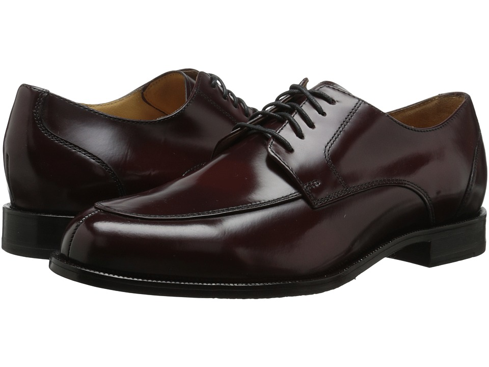 Cole Haan - Carter Grand Split (Burgundy) Men's Dress Flat Shoes