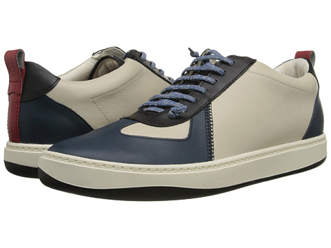 Camper - Domus - 18953 (Blue/Light Beige) Men's Lace up casual Shoes