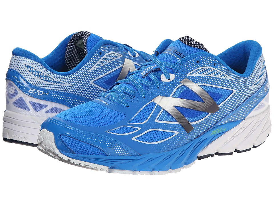 New Balance - M870v4 (Blue/White) Men's Shoes
