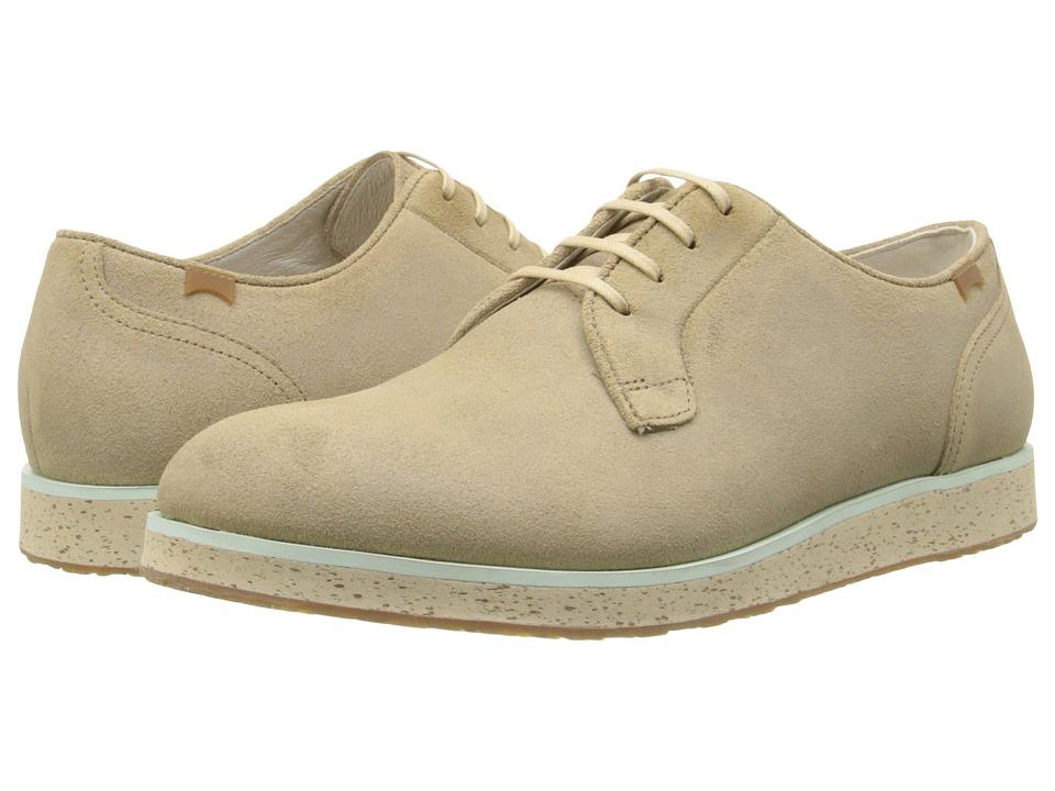 Camper - Magnus - 18897 (Medium Beige) Men's Lace up casual Shoes