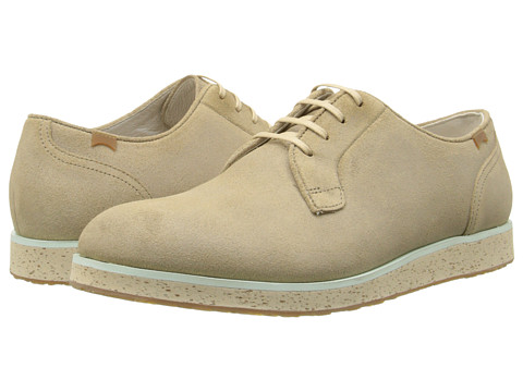Camper - Magnus - 18897 (Medium Beige) Men's Lace up casual Shoes