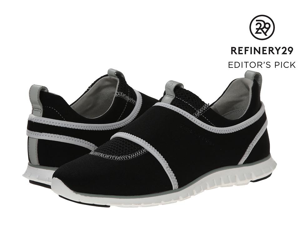 Cole Haan - Zerogrand Slip-On Sneaker (Black/Optic White/Jade Grey) Women