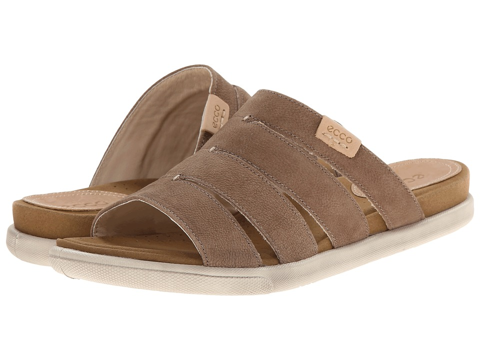 ECCO - Damara Slide Sandal (Birch) Women