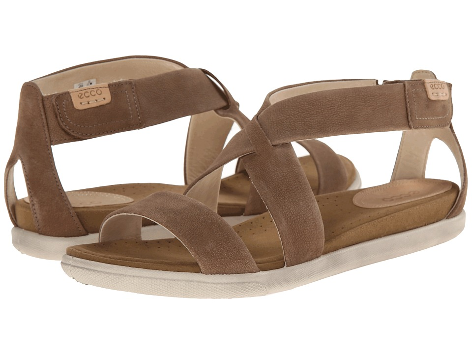ECCO - Damara Strap Sandal (Birch) Women