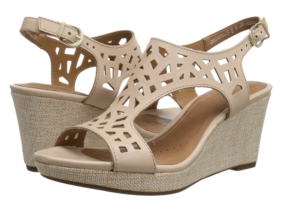 Clarks Palmdale Sands (Nude Leather) Women