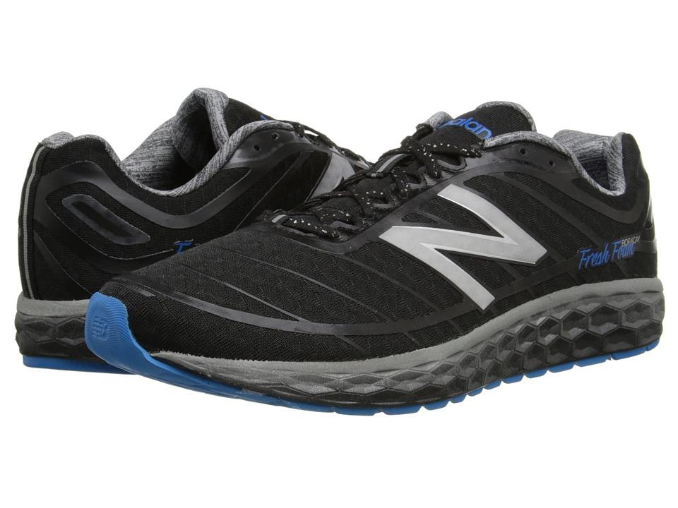 New Balance - Fresh Foam Boracay (Black/Blue) Men's Running Shoes